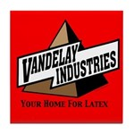 Vandelay Industries Vintage Logo Tile Coaster