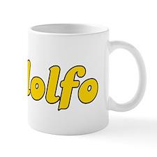 Retro Rodolfo (Gold) Mug