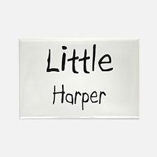 Little Harper Rectangle Magnet