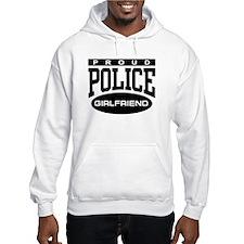 Proud Police Girlfriend Jumper Hoody
