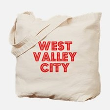 Retro West Valley .. (Red) Tote Bag
