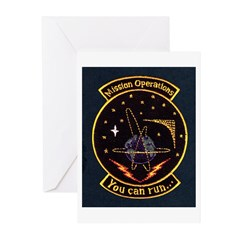 Mission Operations Greeting Cards (Pk of 20)