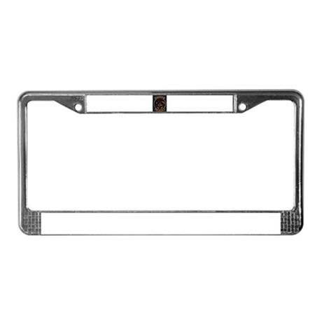 Mission Operations License Plate Frame