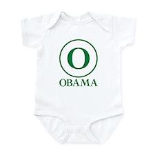 Green O Obama Infant Bodysuit