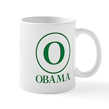 Green O Obama Mug