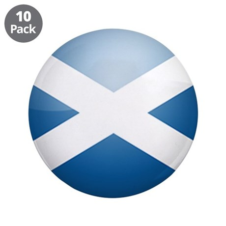 "Scotland 3.5"" Button (10 pack)"