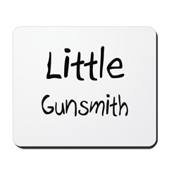 Little Gunsmith Mousepad