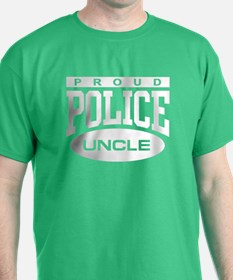 Proud Police Uncle T-Shirt