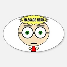 Massage Doll Oval Decal