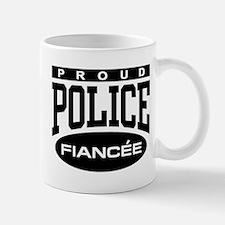 Proud Police Fiancee Mug