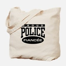 Proud Police Fiancee Tote Bag