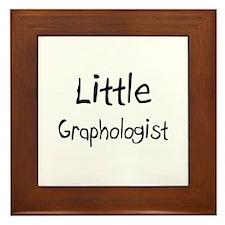 Little Graphologist Framed Tile