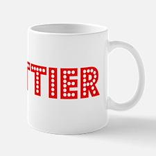 Retro Whittier (Red) Mug