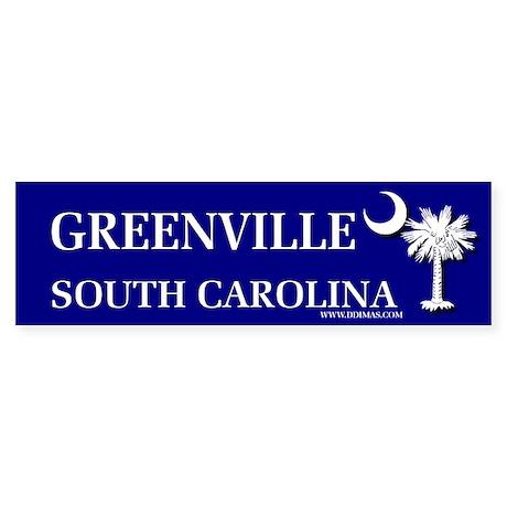 Greenville South Carolina Bumper Sticker