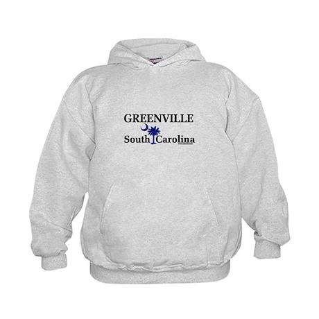 Greenville South Carolina Kids Hoodie