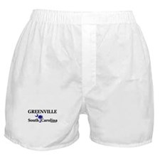 Greenville South Carolina Boxer Shorts