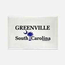Greenville South Carolina Rectangle Magnet
