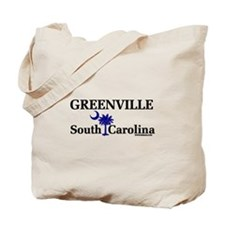 Greenville South Carolina Tote Bag