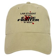 Law Stdnt Cage Fighter by Night Baseball Cap