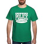 Proud Police Daughter Dark T-Shirt