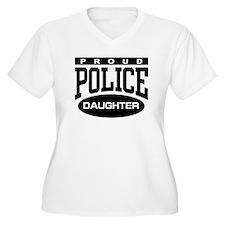 Proud Police Daughter T-Shirt