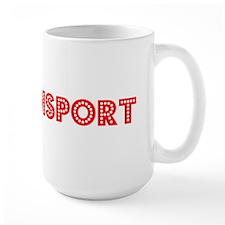 Retro Williamsport (Red) Mug