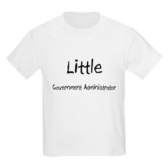 Little Government Administrator T-Shirt