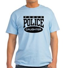 Proud Police Daughter T-Shirt