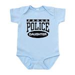 Proud Police Daughter Infant Bodysuit