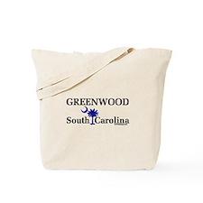 Greenwood South Carolina Tote Bag
