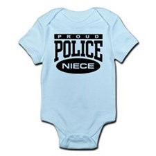 Proud Police Niece Infant Bodysuit