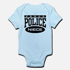 Proud Police Niece Infant Bodysuit