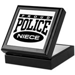 Proud Police Niece Keepsake Box