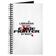 Librarian Cage Fighter by Night Journal