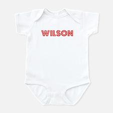 Retro Wilson (Red) Infant Bodysuit
