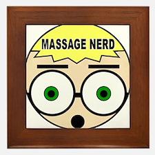 Massage Doll Head Framed Tile