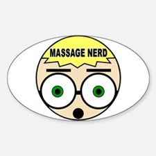 Massage Doll Head Oval Decal