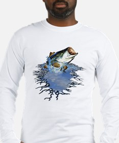 Bass Fishing Long Sleeve T-Shirt