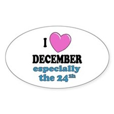 PH 12/24 Oval Decal