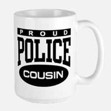 Proud Police Cousin Mug