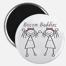 Bosom Buddies Magnet