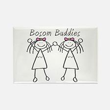 Bosom Buddies Rectangle Magnet (10 pack)