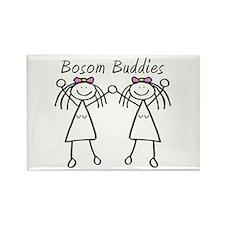 Bosom Buddies Rectangle Magnet