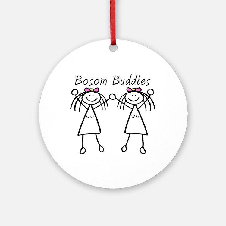 Bosom Buddies Ornament (Round)