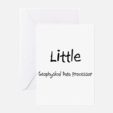 Little Geophysical Data Processor Greeting Cards (