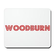 Retro Woodburn (Red) Mousepad