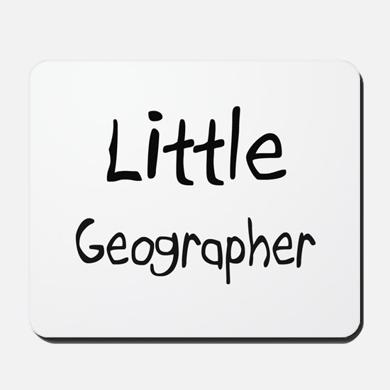 Little Geographer Mousepad