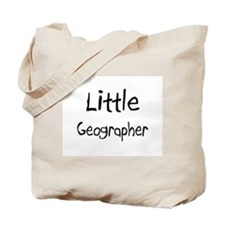 Little Geographer Tote Bag