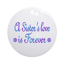 Sisters Ornament (Round)