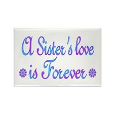 Sisters Rectangle Magnet